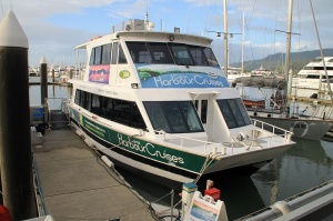 Our next destination for the day - the Sunset Harbor cruise vessel.