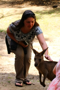 One of the more sociable roos in Roo Heaven.