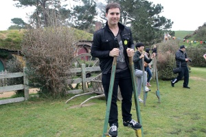 Hobbit stilts are fun to play with!
